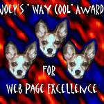 Joey's Way Cool Award